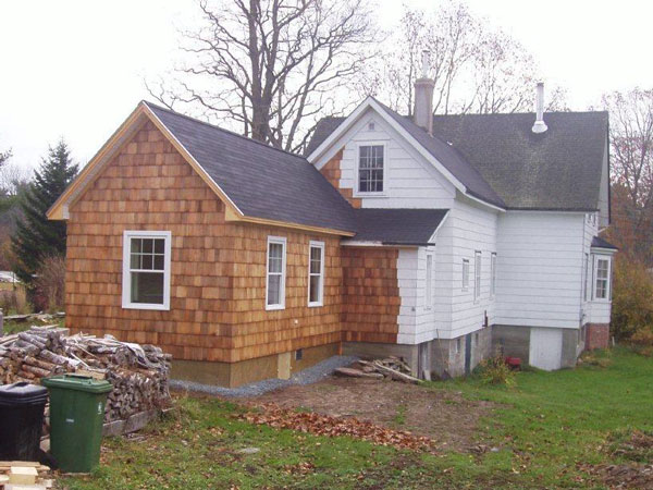 Building an addition on an existing home