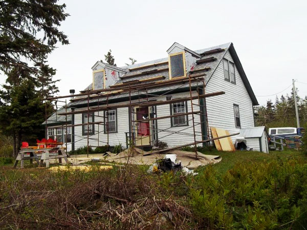 Adding new dormer windows to an older Cape Cod home